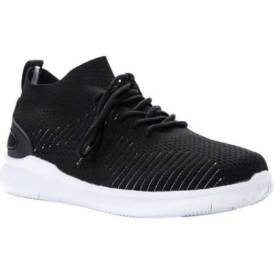 プロペット Propet メンズ スニーカー シューズ・靴 Viator Sneaker Black Knit Mesh