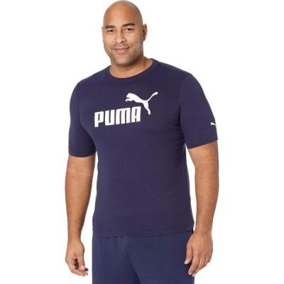 プーマ PUMA メンズ Tシャツ 大きいサイズ ロゴTシャツ トップス Big & Tall Essential Logo Tee Peacoat