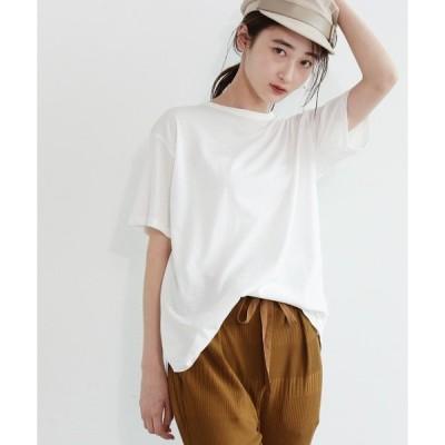 tシャツ Tシャツ [洗える]コットンバックシャンプルオーバー