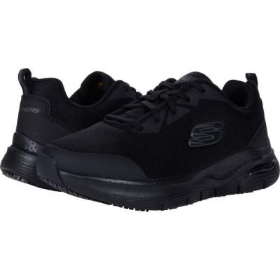 スケッチャーズ SKECHERS Work レディース スニーカー シューズ・靴 Arch Fit SR Black