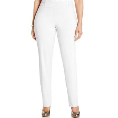 ジェイエムコレクション レディース カジュアルパンツ ボトムス Plus & Petite Plus Size Tummy Control Slim-Leg Pants