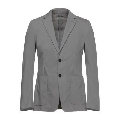 プラダ PRADA テーラードジャケット グレー 48 バージンウール 100% テーラードジャケット