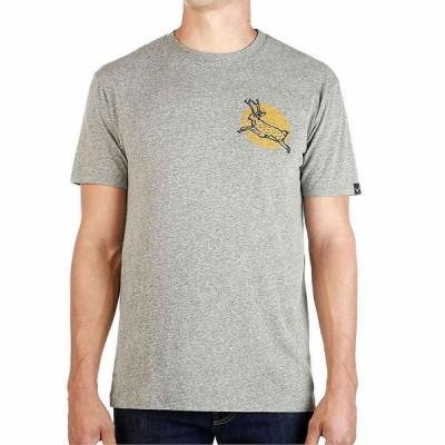 ムースジョー Moosejaw メンズ Tシャツ トップス Johnnycake Vintage Regs SS Tee Heather Grey