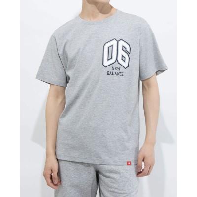 ニューバランス new balance メンズ 半袖Tシャツ NB Athletics カレッジ ゼロシックス Tシャツ AMT11576 AMT11576 (グレー)