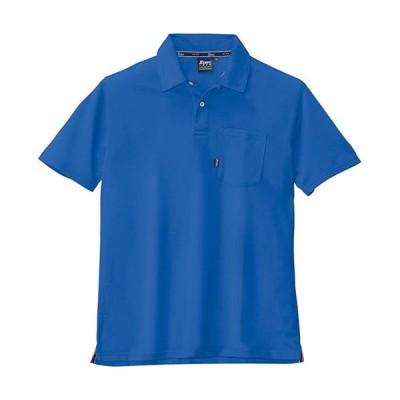 ジーベック(XEBEC) 半袖ポロシャツ 46/ロイヤルブルー 6140 作業服 作業着 ワークウエア ワークウェア メンズ レディース