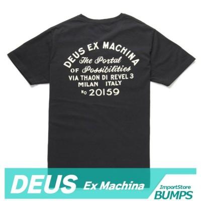 DEUS デウス エクスマキナ  Tシャツ  半袖  メンズ  丸首  ポケット  ミラノ  Milano  XS〜XXL  トップス  デウス 新作