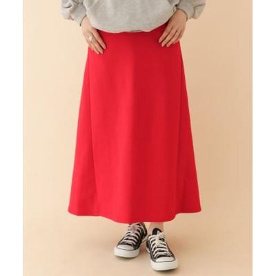 (ITEMS URBANRESEARCH/アイテムズ アーバンリサーチレディース)TCロングスカート/レディース RED