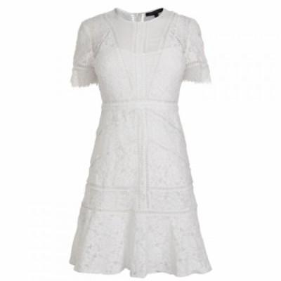 フレンチコネクション French Connection レディース ワンピース ワンピース・ドレス Lace Dress White