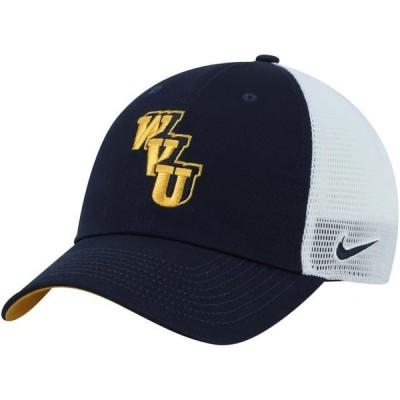 ユニセックス スポーツリーグ アメリカ大学スポーツ West Virginia Mountaineers Nike Heritage 86 Trucker Meshback Adjustable Hat -