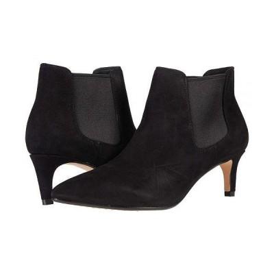 Clarks クラークス レディース 女性用 シューズ 靴 ブーツ アンクル ショートブーツ Laina55 Boot 2 - Black Suede