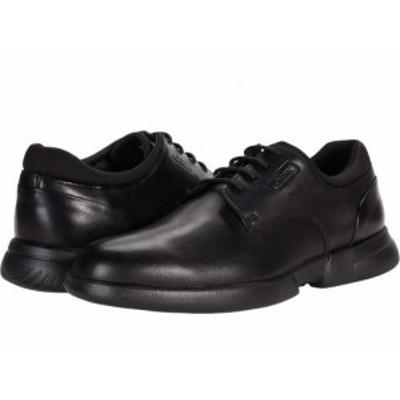 Geox ジオックス メンズ 男性用 シューズ 靴 オックスフォード 紳士靴 通勤靴 Smoother F2 Black【送料無料】