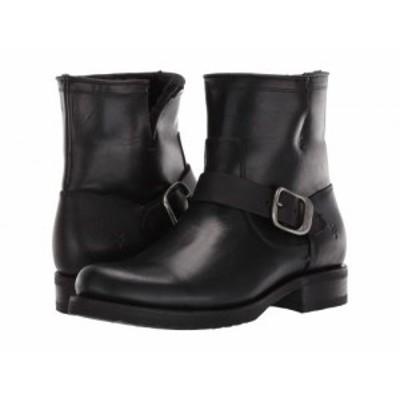 Frye フライ レディース 女性用 シューズ 靴 ブーツ アンクルブーツ ショート Veronica Shearling Bootie Black【送料無料】