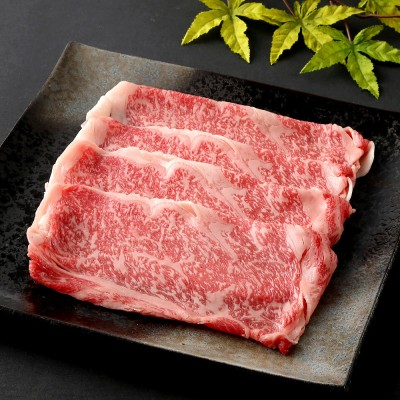 いとうフーズ 【オンライン限定】福島県産黒毛和牛サーロイン すき焼き用