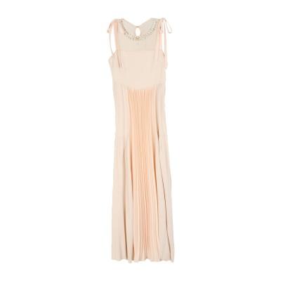 クラス ロベルト カヴァリ CAVALLI CLASS ロングワンピース&ドレス ライトピンク 40 レーヨン 100% / アセテート / シルク