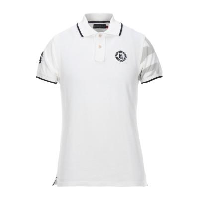 HENRI LLOYD ポロシャツ ホワイト M コットン 100% ポロシャツ