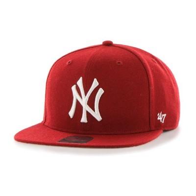 '47 Brand(フォーティーセブン)ニューヨークヤンキース キャップ 帽子 スナップバックハット Yankees Sure Shot '47 CAPTAIN Razor Red MLB メジャーリーグ