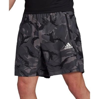 アディダス adidas メンズ ショートパンツ ボトムス・パンツ Designed 2 Move Camo Printed Shorts Grey Camo