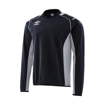 アンブロ(UMBRO) ジュニア サッカーウェア Jr.トレーニングトップ ブラック UAS2660J BLK スポーツウェア トレーニング トップス ジャージ