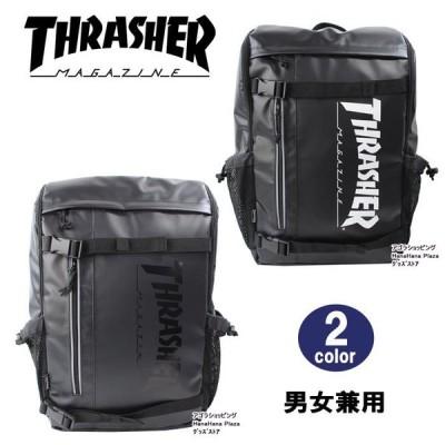 スラッシャー バッグ リュック THRTP504 バックパック ベルトデザイン サイドメッシュポケット付き デイバッグ リュックサック THRASHER 男女兼用 ag-1081