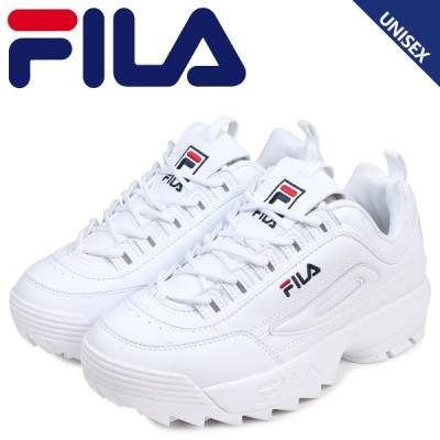FILA フィラ ディスラプター2 スニーカー メンズ レディース 厚底 DISRUPTOR 2 ホワイト 白 1FM00864-121