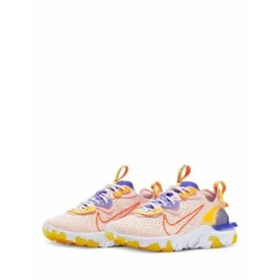 ナイキ レディース スニーカー シューズ Women's React Vision Low Top Sneakers Washed Coral/Sapphire/Laser Orange/Hyper Crimson