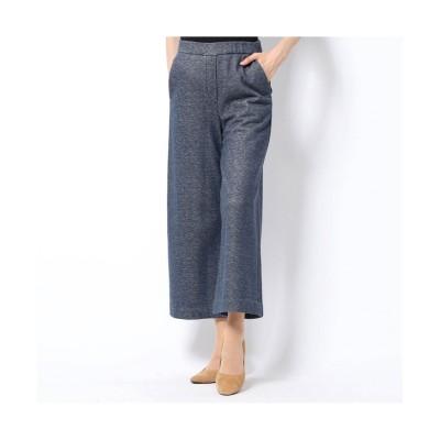 スウェット素材デニム風飾りポケットパンツ  Rename (レディースパンツ)Pants