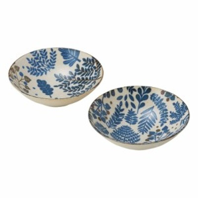 ミニラボ 藍煮物鉢2P MI-065