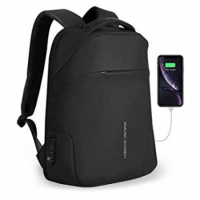Mark ryden Anti Theft Waterproof Backpack Laptop Backpack 15.6 inch for Travel School with TSA Lock (Without Raincoat)