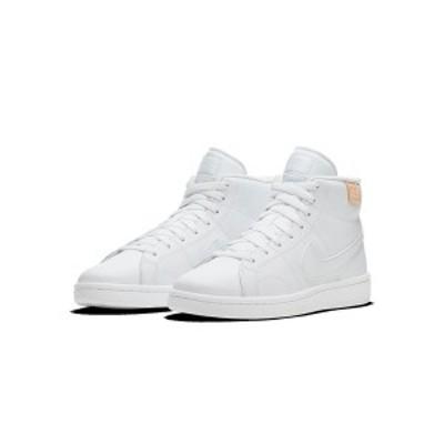 ナイキ レディース スニーカー シューズ Women's Court Royale 2 Mid High Top Casual Sneakers from Finish Line White
