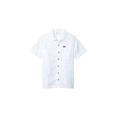 コロンビア Outdoor Elements Short Sleeve Print Shirt メンズ Shirts & Tops Sky Blue Wild Trees Print