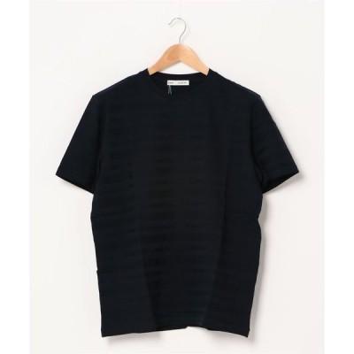 tシャツ Tシャツ ボーダーリンクス クルーネックTシャツ