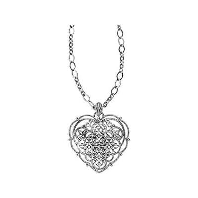 Brighton Bella Roma Heart Convertible Necklace