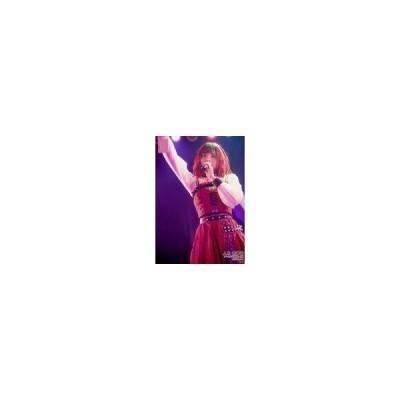 中古生写真(AKB48・SKE48) 人見古都音/ライブフォト・膝上・衣装赤・白・黒・チェック柄・右手上げ・左手マイク/AKB48 チー