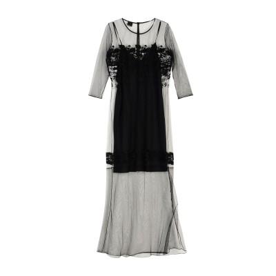 ピンコ PINKO ロングワンピース&ドレス ブラック M ポリエステル 63% / ナイロン 37% ロングワンピース&ドレス
