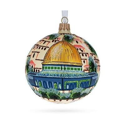 BestPysanky Western Wall Temple Mount Jerusalem Israel Glass Ball Christmas