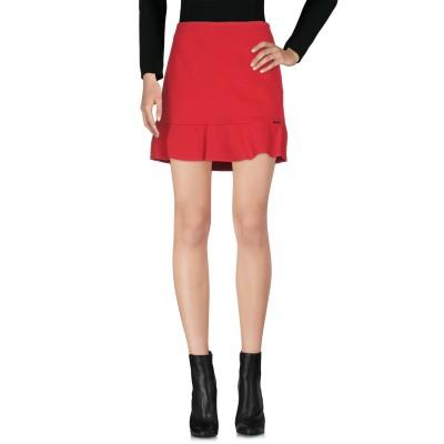 リュー ジョー LIU •JO ミニスカート レッド 40 レーヨン 65% / ナイロン 30% / ポリウレタン 5% ミニスカート
