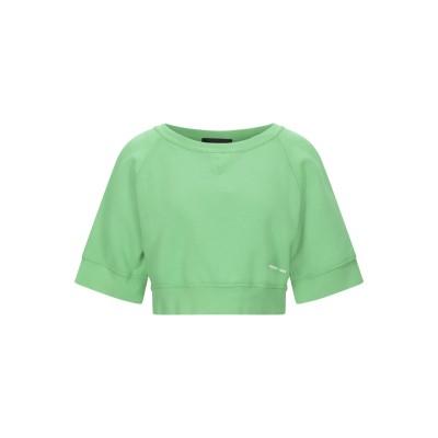 ディースクエアード DSQUARED2 スウェットシャツ ライトグリーン XS コットン 100% / ポリウレタン スウェットシャツ