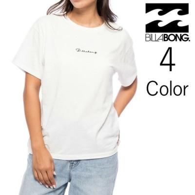 ビラボン Billabong レディース TEE SHIRTS ロゴ Tシャツ bb013210