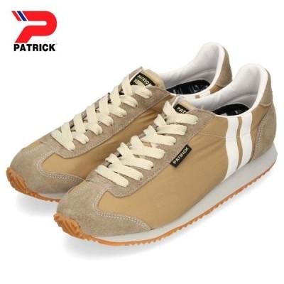 パトリック スニーカー ネバダ ソフト ナイロン PATRICK NEVADA S.N BGE 501813 ベージュ レディース 軽量 通気 撥水 靴 日本製