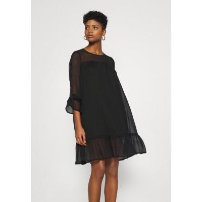 オンリー ワンピース レディース トップス ONYHEATHER DRESS - Day dress - black