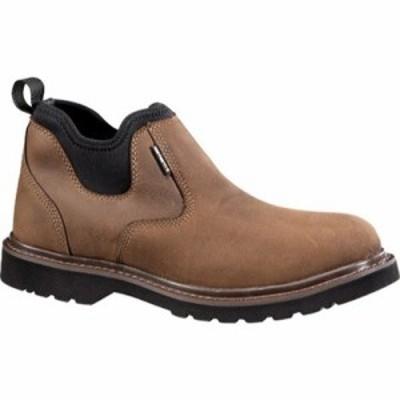 カーハート 革靴・ビジネスシューズ CMS4190 4 Oxford Romeo Boot Dark Bison Oil Tanned