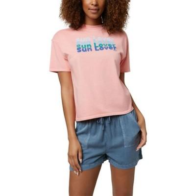 オニール O'Neill レディース Tシャツ トップス Sun Lover Short Sleeve T-Shirt Clay