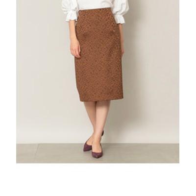 【EPOCA THE SHOP】レオパードジャガードスカート