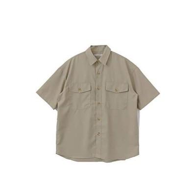 [センスオブプレイス] ワイシャツ CPOシャツ(5分袖) メンズ AA05-13B038 GREIGE M