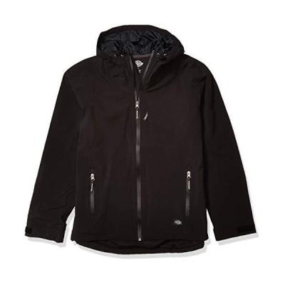 Dickiesメンズパフォーマンス防水性通気性ジャケットwith Hood US サイズ: M カラー: ブラック(並行輸入品)