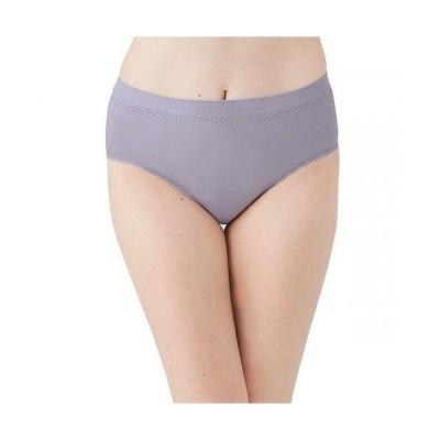 Wacoal ワコール レディース 女性用 ファッション 下着 ショーツ B Smooth Lace Trim Brief 875374 - Dapple Gray