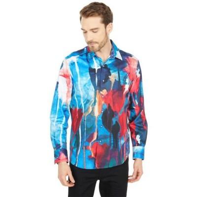 メンズ シャツ トップス Running Colors Long Sleeve Woven Shirt