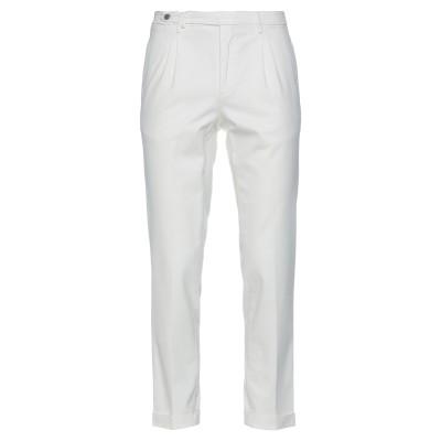 BRIGLIA 1949 パンツ ホワイト 48 コットン 54% / レーヨン 43% / ポリウレタン 3% パンツ
