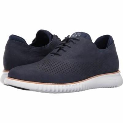 コールハーン Cole Haan メンズ 革靴・ビジネスシューズ シューズ・靴 2.Zerogrand Laser Wing Oxford Marine Blue Nubuck/Optic White