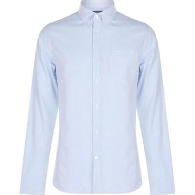 ハウィック Howick メンズ シャツ トップス Oxford Slim Fit Shirt Sky